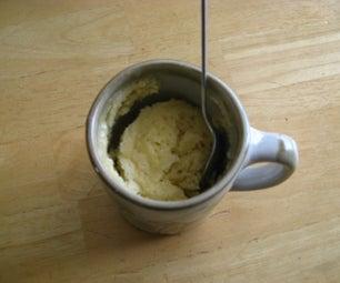 5 Minute Vanilla/Sugar Cookie Cake