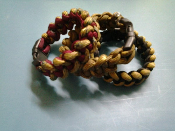 Piranha Weave Bracelet