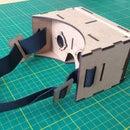 Google Cardboard MDF Garagem FabLab
