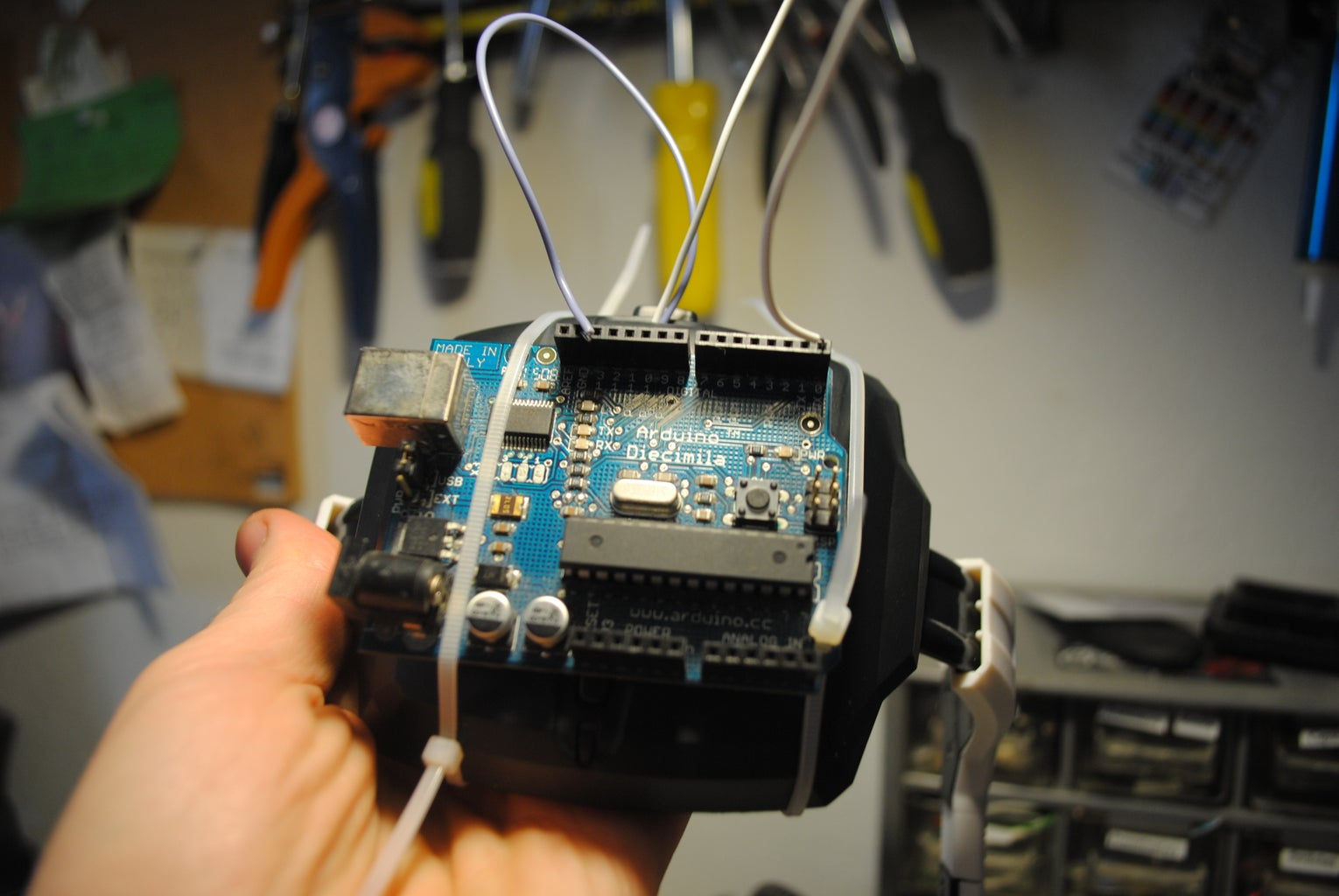 Hooking Up to the Arduino
