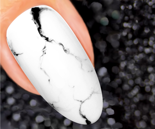 Marble Nails Design With Gel Polish