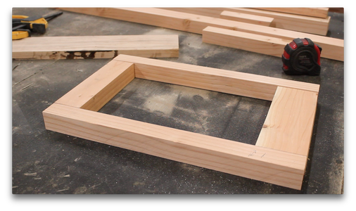 The Wooden Frame (3/5)