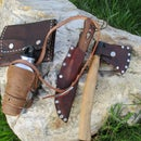 Bushcraft Leather Belt Kit