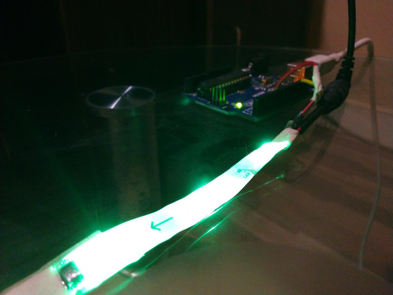 Glow an LED: