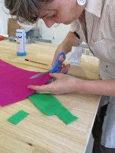 Make Colored Felt Inserts