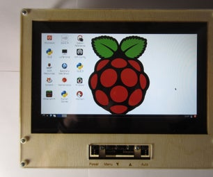 Laser Cut Raspberry Pi LCD Case