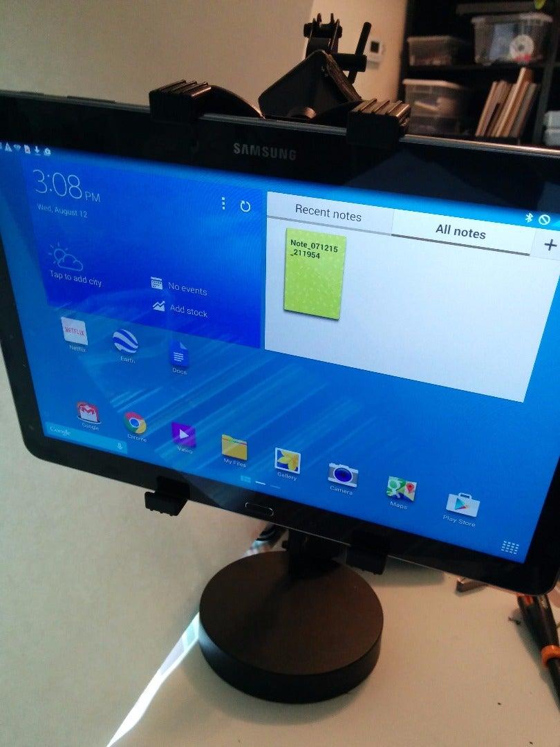 Desktop Tablet Holder