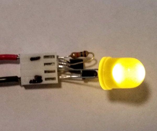 Dark Sensing LED Throwies - DCP Style