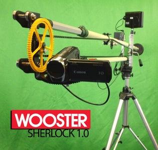 DIY Camera Crane - the Wooster Sherlock 1.0