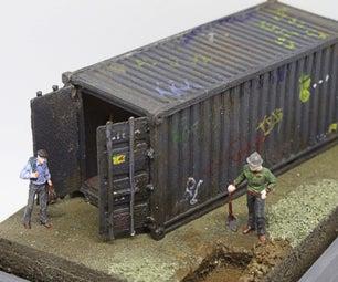 浩规模集装箱惊喜揭示透视图。