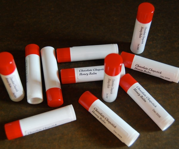 Delicious Chocolate Honey Lip Balm (updated With Link to Pop Art Packaging)