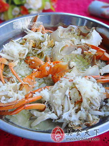How to Steamed Crabs