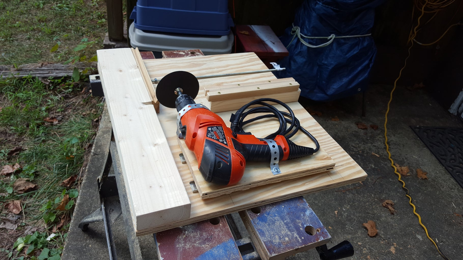 Threaded Rod Cutting Station