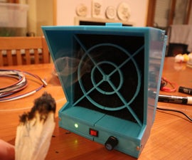 DIY 3D Printed 120mm Fume Extractor