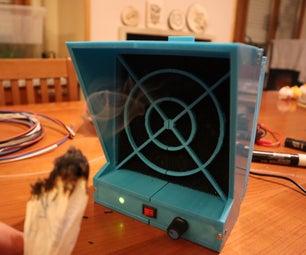 DIY 3D印刷120mm烟雾提取器