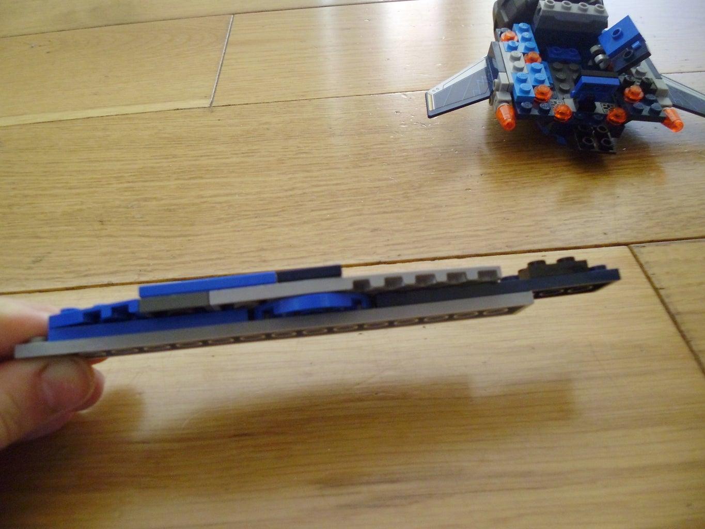 Step 4, Step 3. the 'sword'.
