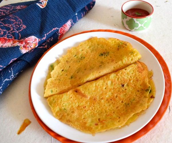 Moong Dal Cheela   How to Make Moong Dal Cheela Recipe - Viniscookbook