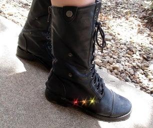 Light-Up Combat Boots