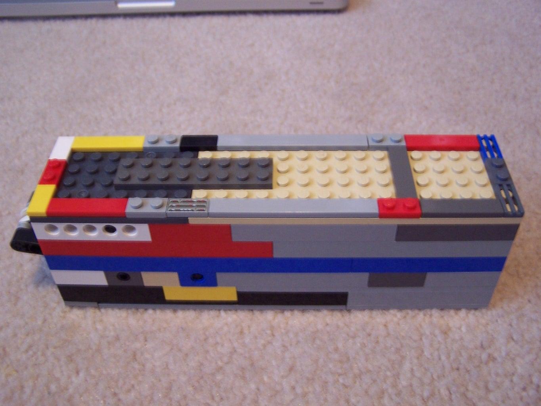The G1 Lego Under-Barrel Grenade Launcher