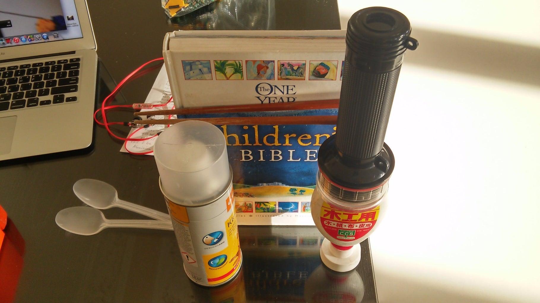 How to Create My Rube Goldberg Machine-Step 3