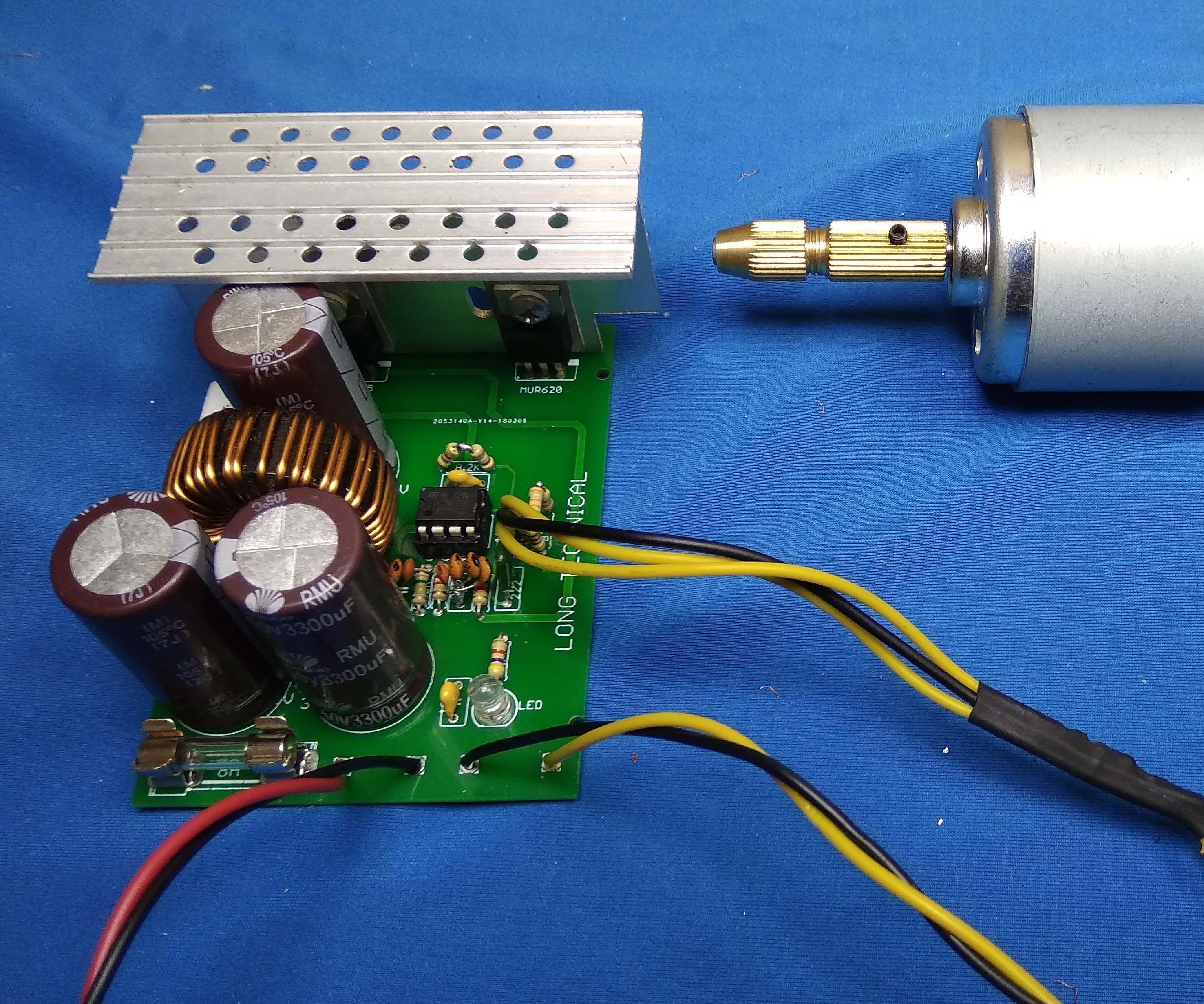 DC to DC Converter 12V to 4,8V - 27,9V | DC Power Supply Schematic
