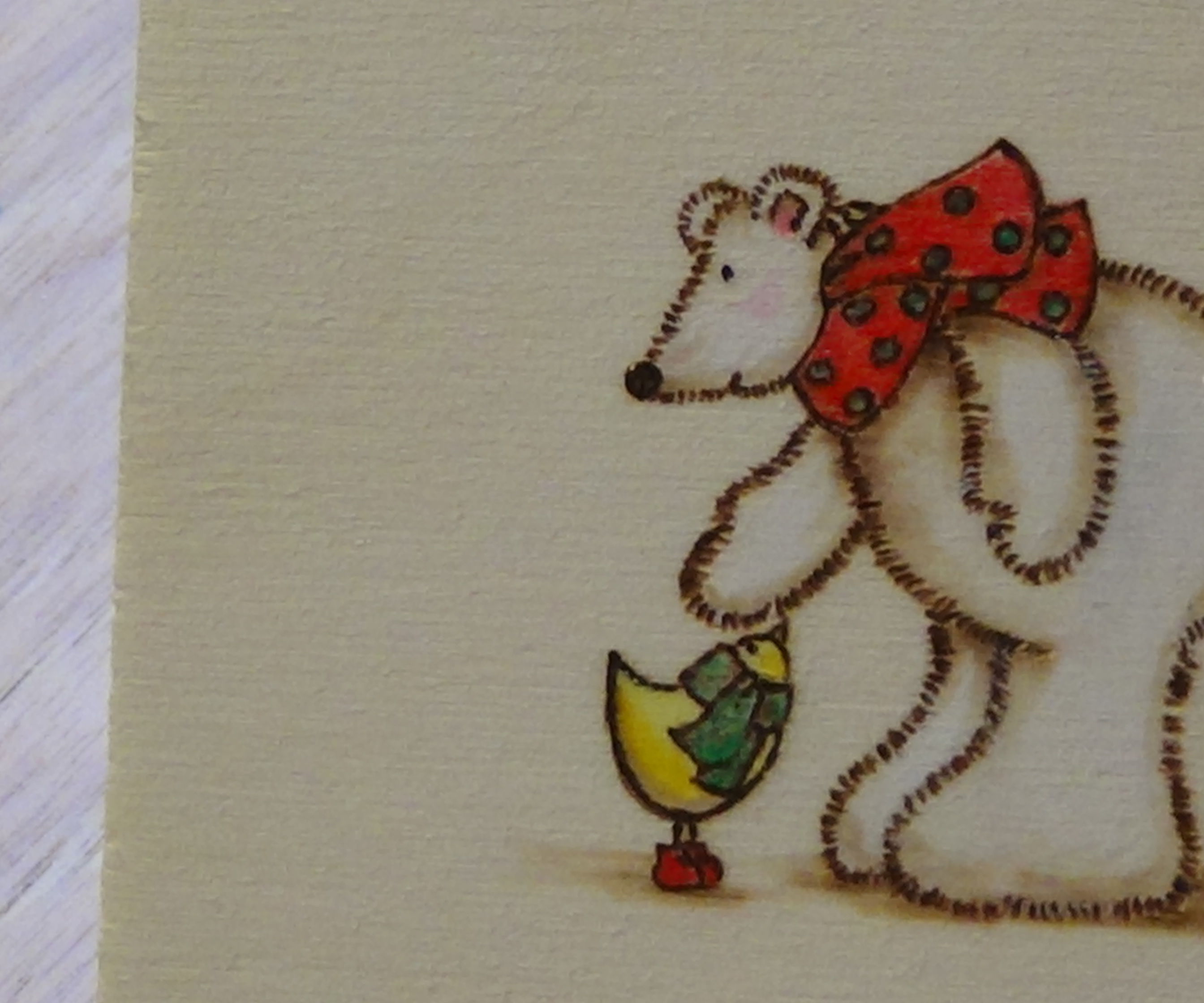 Pyrography: Using Rubber Stamps with your Burnings