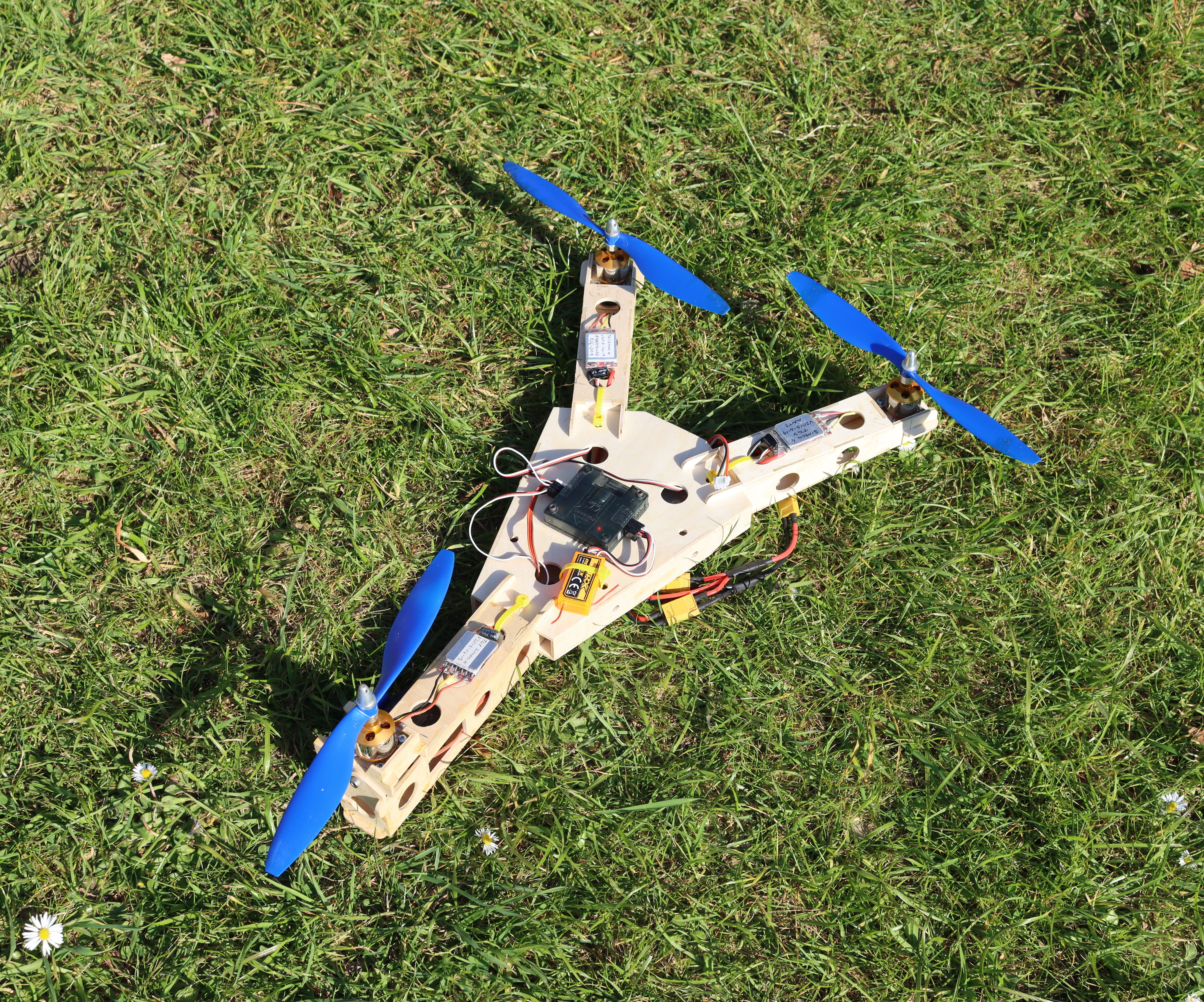 Tricopter With Front Tilting Motor.