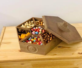 Wooden Sweet Box (3D Printed)