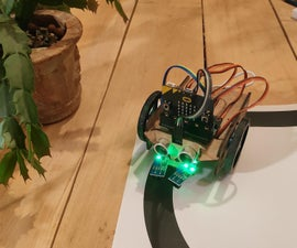 DIY Micro:bit Educational Mobile Robot V2