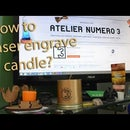 How to Laser Engrave Candles ?
