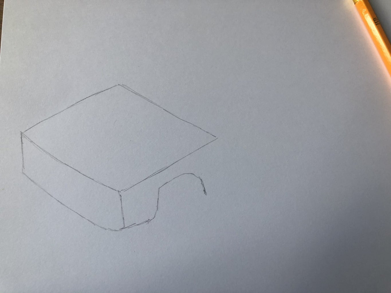 Draw the 3D Front of the Car