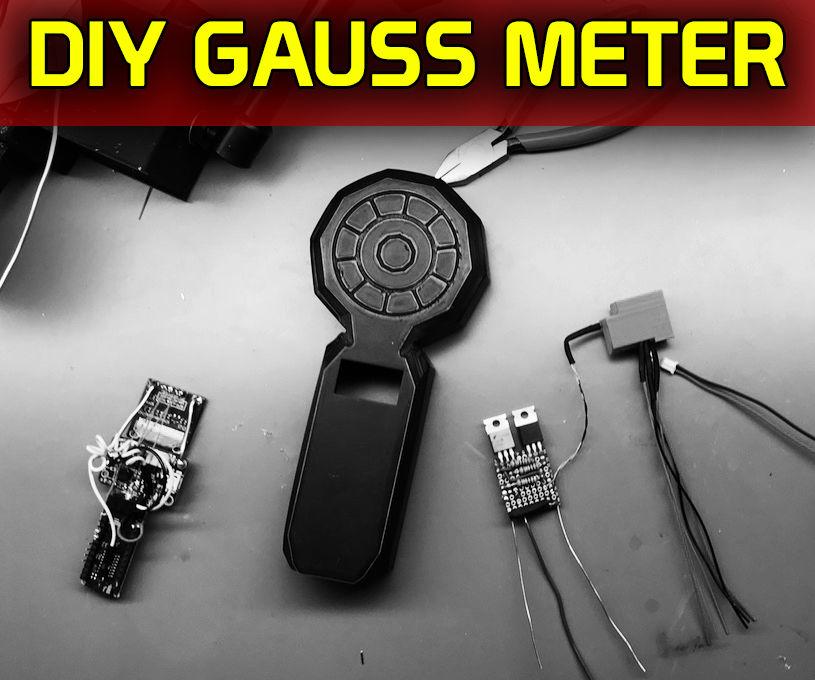 Dual Sensor Gauss Meter
