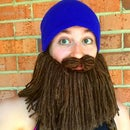 Easy Yarn Beard Hat