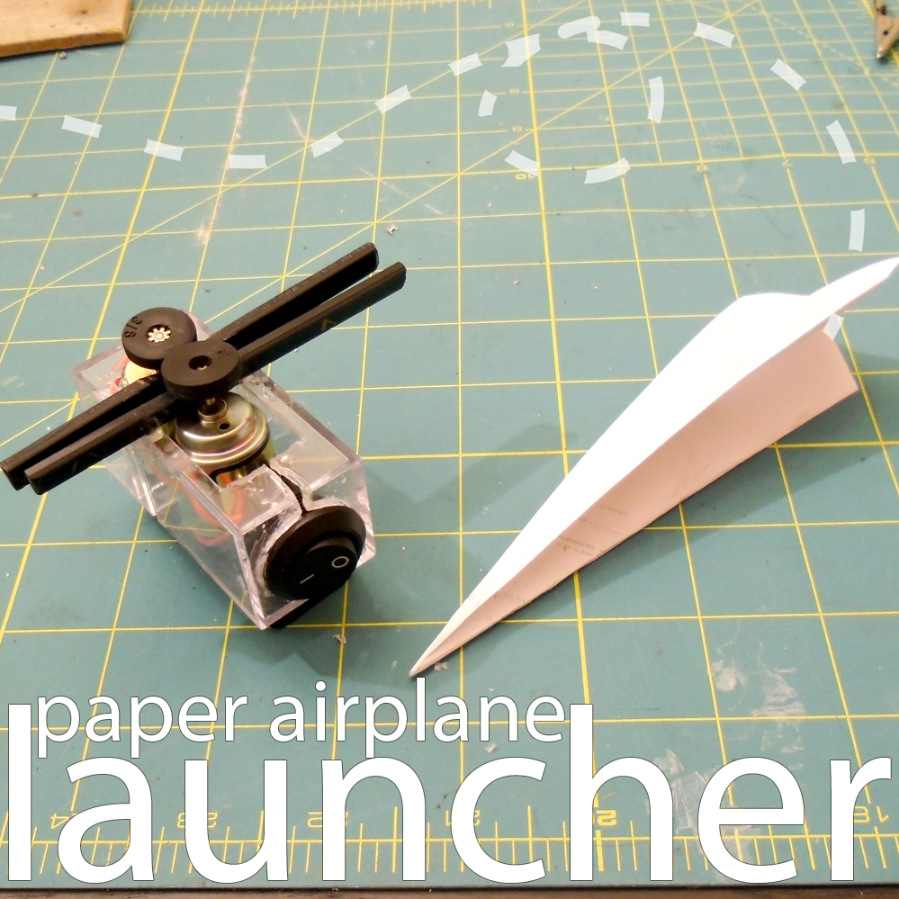 electric airplane launcher