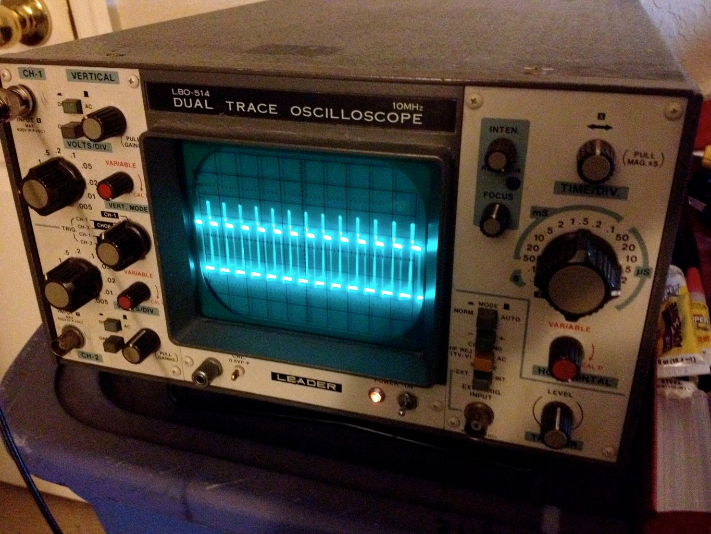 Test Using Oscilloscope