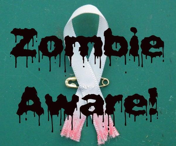 Zombie Awareness Ribbon