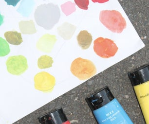 Basic Color Mixing