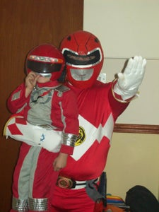 Red Ranger Costume That Did Work.