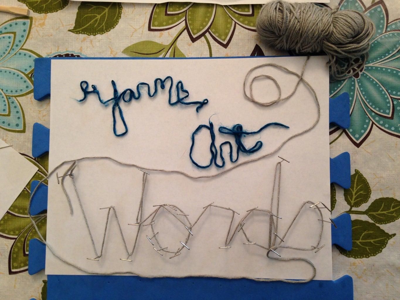 Yarn Art Words
