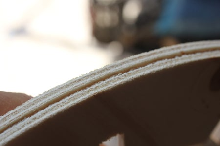 Glue Top and Bottom Frame