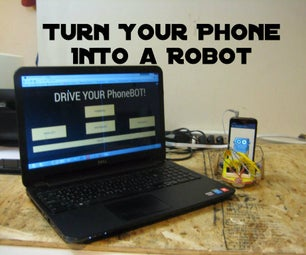 Turn Your Phone Into a Robot