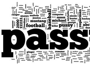 Easy-type Secure Passwords