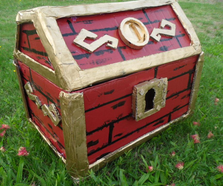 Treasure Chest Cardboard