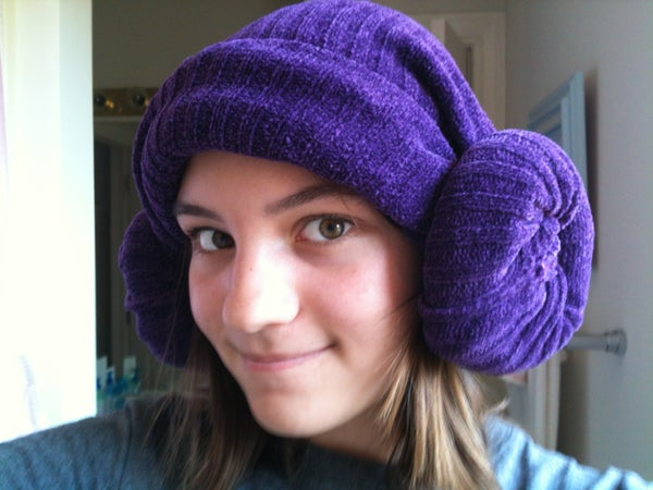 Earmuff Hat (made From an Old Sweater)