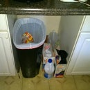 Kitchen Trash & Recycle Cart