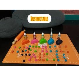 Full Color Play Dough Sensory Play