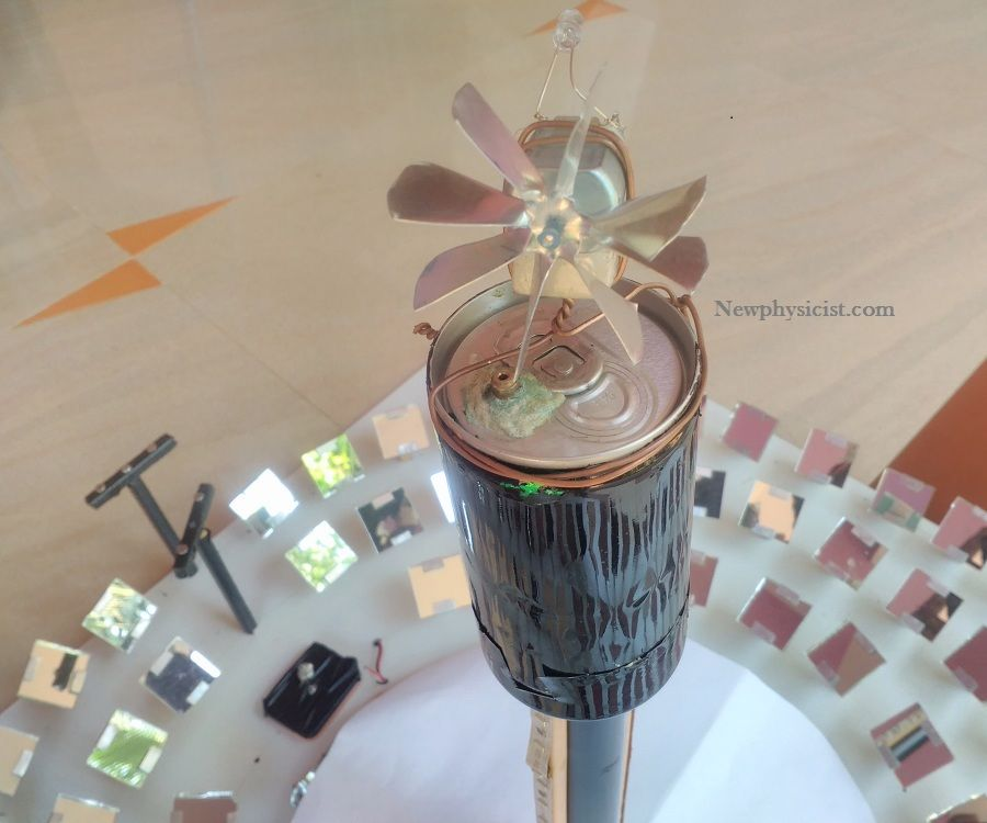 Mini Concentrated Solar Thermal Power Plant
