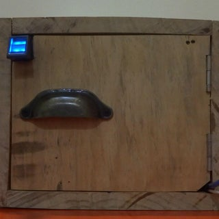 Fingerprint Locker With Arduino