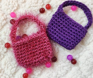 Crochet Mini Treat Bags