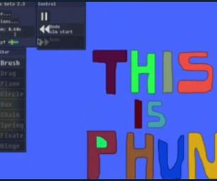 How to Use 'Phun' Physics Engine!